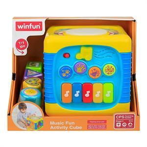 Cubo Actividades con Luces y Sonidos Color Baby 40940