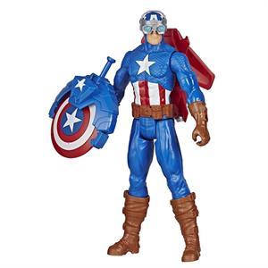 Figura Avengers Titan Hero Capitan America 30cm con Accesorios Hasbro 7374E