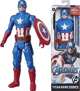 Figura Avengers Titan Hero Capitan America Hasbro 7877E