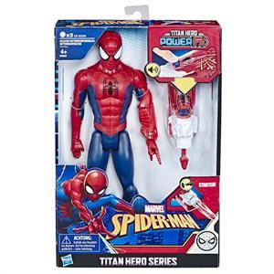 Figura Titan Spiderman Hasbro 3552E