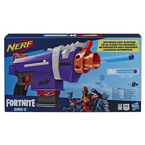 Fortnite Nerf Pistola SMG Carga 6 Dardos Hasbro 8977E
