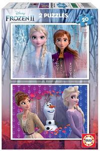 Frozen Puzzle 2x20 Piezas Educa 18109
