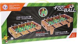 Futbolin Madera Sobre Mesa con Patas 61x30,5x20cm Jugatoys 22118