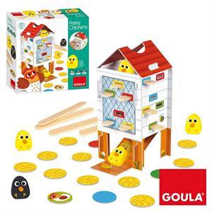 Goula Juego Happy Chicken Diset 53170
