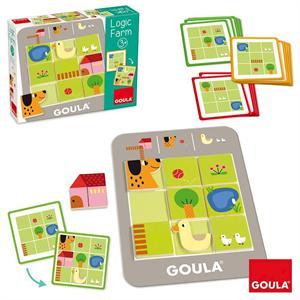 Goula Juego Logic Farm Diset 53168