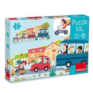 Goula Puzzle XXL Vehiculos Diset 453428