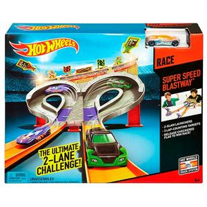Hotwheels Pista Super Speed Blust Mattel 49CDL