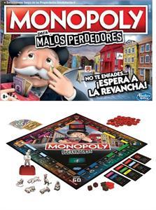 Juego Monopoly Malos Perdedores Hasbro 9972105E
