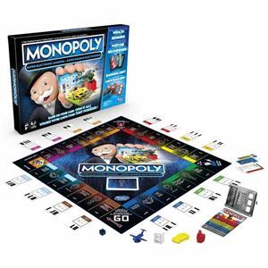 Juego Monopoly Super Electronico Banking Hasbro 8978105E