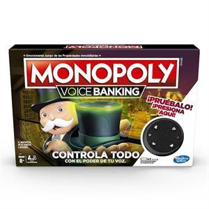 Juego Monopoly Voice Banking Hasbro 4816E