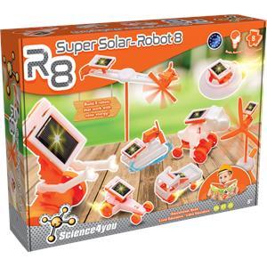 Juego Super Solar-Robot 8 Science4You 487809