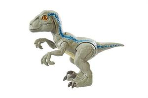 Jurassic World Dinosaurio Velociraptor Blue Mattel 40GFD