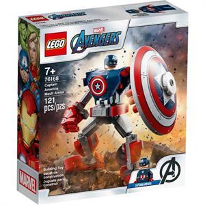 Lego Avengers Armadura Robotica Capitan America 76168