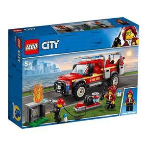 Lego City Camión de Intervencion del Jefe de Bomberos 60231