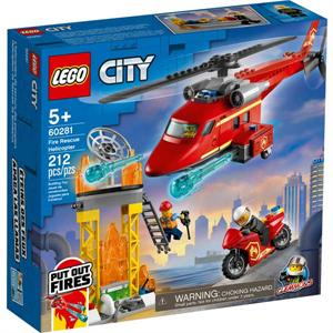 Lego City Helicoptero Rescate de Bomberos 60281