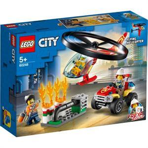 Lego City Intervención del Helicóptero de Bomberos 60248