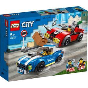 Lego City Policia Arresto en la Autopista 60242