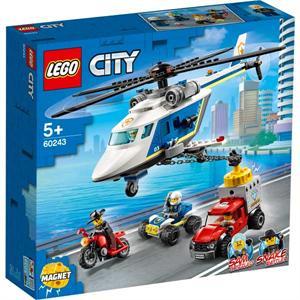Lego City Policia Persecución en Helicóptero 60243