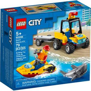 Lego City Quad de Rescate Costero 60286