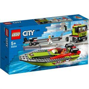 Lego City Transporte de la Lancha de Carreras 60254