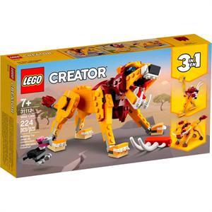 Lego Creator Leon Salvaje 31112