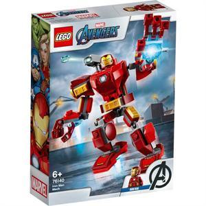 Lego Marvel Avengers Armadura Robótica de Iron Man 76140