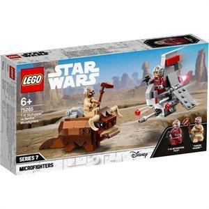 Lego Star Wars Saltacielos T-16 vs. Banth 75265