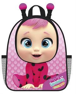 Mochila Infantil Eva 3D Bebés Llorones Lady 30x11x21cm CYP 201MCCR