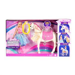 Muñeca Barbie y su Caballo Mattel 79GML