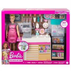Muñeca Barbie y su Cafeteria Mattel 3GMW