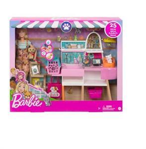 Muñeca Barbie y su Tienda de Mascotas Mattel 90GRS