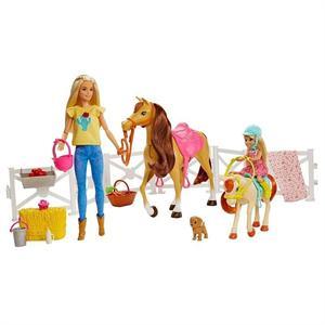 Muñeca Barbie y sus Caballos Mattel 15FXH