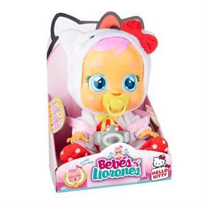 Muñeca Bebés Llorones Hello Kitty 30cm IMC 80133