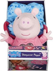 Peluche Peppa Pig Fiesta de Pijamas Bandai 6926CO