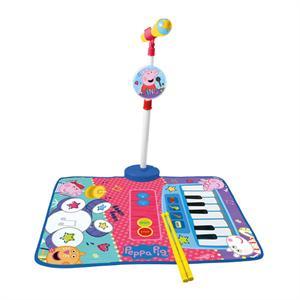 Peppa Pig Alfombra Bateria y Piano con Micro Reig 2348