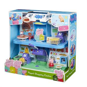 Peppa Pig Centro Comercial con Figura Bandai 7177CO