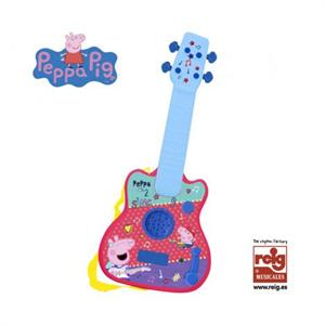 Peppa Pig Guitarra Infantil Electronica Reig 2346