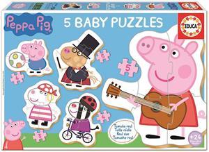 Peppa Pig Puzzle Progresivo Educa 18589