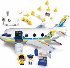 Pin Y Pon Action Emergencia en el Avión Famosa 715149
