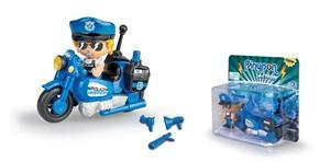 Pin y Pon Action Moto de Policia Famosa 715694