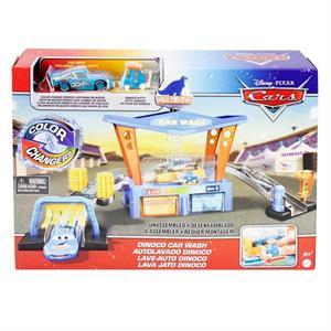 Pista Cars con Autolavado Dinoco Mattel 91GTK