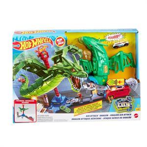 Pista Hotwheels Ataque Aereo del Dragón Mattel 13GJL