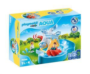 Playmobil 1.2.3 Carrusel Acuático 70268