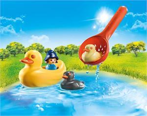 Playmobil 1.2.3 Familia de Patos 70271