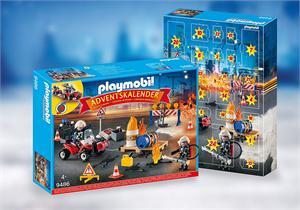 Playmobil Calendario Adviento Operacion Bomberos 9486