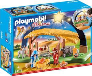 Playmobil Chrismas Belén con Luz 9494