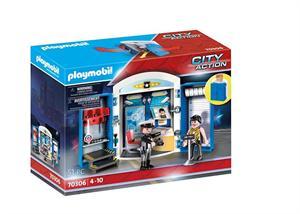 Playmobil City Action Cofre Policia 70306