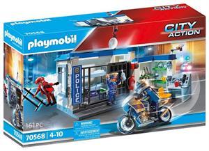 Playmobil City Action Policia Escape de La Prisión 70568