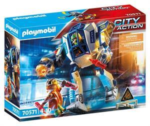 Playmobil City Action Robot Policia Operación Especial 70571