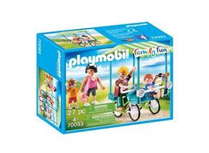 Playmobil Family Fun Bicicleta Familiar 70093